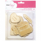 DEAR LIZZY - DAYDREAMER 366781 - WOOD VEENER - 3 igjen