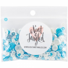 NEAT-TANGLED MIX - PALJETTER - SEQUIN NAT188 - OCEAN WAVES
