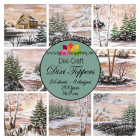 DIXI CRAFT - DIXI TOPPERS - ET0277 - WINTER LANDSCAPES