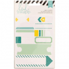 HEIDI SWAPP - STICKERS 312238 - WORD JUMBLES - LABELS TEAL