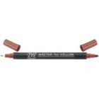 ZIG MEMORY SYSTEM VELLUM WRITER DUAL-TIP MARKER - PURE BROWN