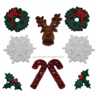 BUTTONS - DRESS IT UP JUL 0266 - DECK THE HALLS