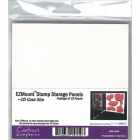 CRAFTERS COMPANION SS07 - STAMP STORAGE PANELS EZMOUNT- CD
