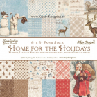 MAJA DESIGN - PAPER PAD 814 - HOME FOR THE HOLIDAYS 6x6
