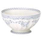 French bowl Stephanie dusty blue xl