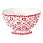 French bowl Alba white M