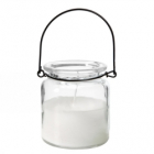 Lys Lantern glass with parafine