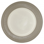 Frokosttallerken Alice warm grey