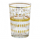 GreenGate glass til te/vann Lamia gold