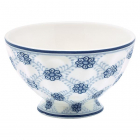 French bowl Lolly blue medium