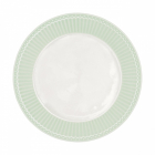 Frokosttallerken Alice pale green