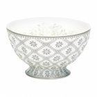 French bowl Bianca warm grey, medium