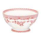 French bowl Stephanie red, XL