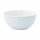 Cereal bowl Alice pale blue