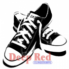 Deep Red; All Star Sneakers