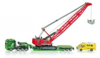 Siku 1834 Heavy Haulage transporter with excavator and service v
