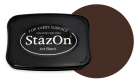 StazOn pad Timber brown