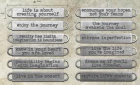 TIM HOLTZ - IDEA-OLOGY - TH93000 - WORD BANDS
