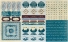 AUTHENTIQUE - CARDSTOCK STICKERS SEA018 - WINTER