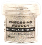 RANGER - EMBOSSING POWDERS TINSEL - SNOWFLAKE