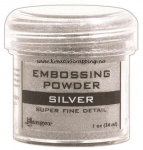 RANGER - EMBOSSING POWDER SUPER FINE DETAIL - SILVER
