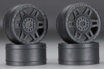 Pro-Line 272403 1/8 Split Six V2 Front/Rear Wheels