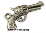 CHARMS - CH0057-1 - COWBOY - REVOLVER