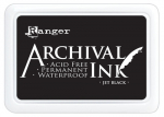 RANGER - ARCHIVAL INK PAD 31468 - JET BLACK