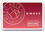 HERO ARTS - OMBRE INK PAD AF319 - LIGHT RUBY TO ROYAL RED