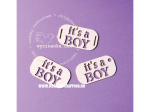 WYCINANKA CHIPBOARDS - ITS A BOY