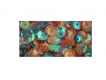 BUTTONS GALORE MIX - PALJETTER - SEQUIN LL302 - PASTELS