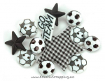 BUTTONS - DRESS IT UP 0418 - SOCCER
