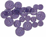 BUTTONS - GLITTER TRANSP 1456 - GRAPE GLITTER
