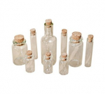 TIM HOLTZ - IDEA-OLOGY - TH92899 - CORKED VIALS CLEAR - 9 stk