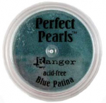 RANGER - PERFECT PEARLS POWDER PPP21872 - BLUE PATINA