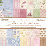 MAJA DESIGN - PAPER PAD 694 - COFFEE IN THE ARBOUR 6x6