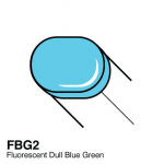 COPIC - SKETCH MARKER FLUORESCENT FBG2 - DULL BLUE GREEN