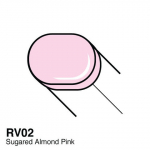 COPIC - SKETCH MARKERS - RV02 - SUGARED ALMOND PINK