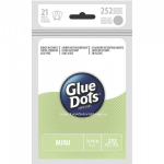 GLUE DOTS ARK - MINI DOT - 3/16 inch - GRØNN