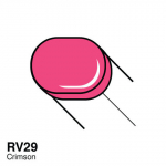 COPIC - SKETCH MARKERS - RV29 - CRIMSON