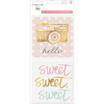PROJECT LIFE 380571 - SPECIALITY CARDS 4x4 - SWEET