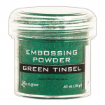 RANGER - EMBOSSING POWDERS TINSEL - GREEN