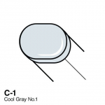 COPIC - SKETCH MARKER - COOL GRAY - C1