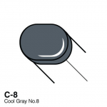 COPIC - SKETCH MARKER - COOL GRAY - C8