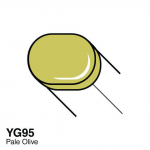 COPIC - SKETCH MARKER - YG95 - PALE OLIVE