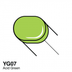 COPIC - SKETCH MARKER - YG07 - ACID GREEN