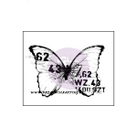 FINNABAIR - WOOD MOUNTED STAMPS 962104 - BUTTERFLY 3