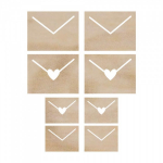 KAISERCRAFT - WOODEN FLOURISHES FL438 - ENVELOPES