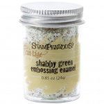 STAMPENDOUS - FRAN-TAGE - EMBOSSING ENAMEL - SHABBY GREEN
