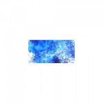 COLOURCRAFT BRUSHO CRYSTAL WATERCOLORS - COBALT BLUE